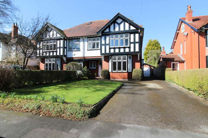 4 Bedrooms Semi Detached House for sale in ATHOL ROAD, Bramhall