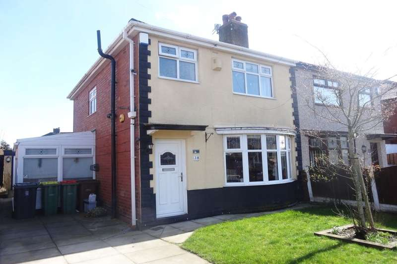 3 Bedrooms Semi Detached House for sale in Sulby Drive, Ribbleton, Preston, PR2
