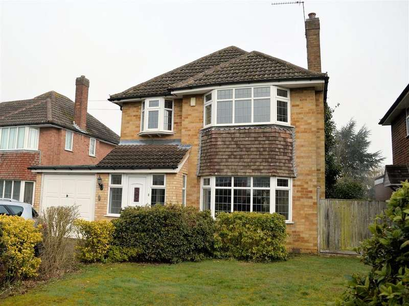 3 Bedrooms Detached House for sale in Covert Close, Oadby