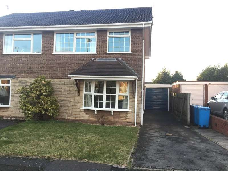3 Bedrooms Semi Detached House for rent in Swinford Leys, Wombourne