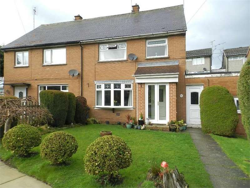 3 Bedrooms Semi Detached House for sale in Chapel Close, Burncross, SHEFFIELD, South Yorkshire