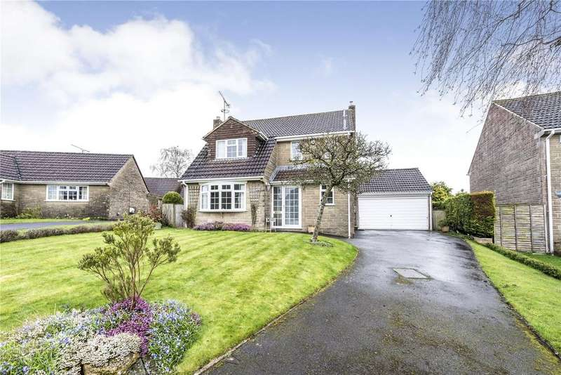 4 Bedrooms Detached House for sale in Westbury Gardens, Higher Odcombe, Yeovil, Somerset