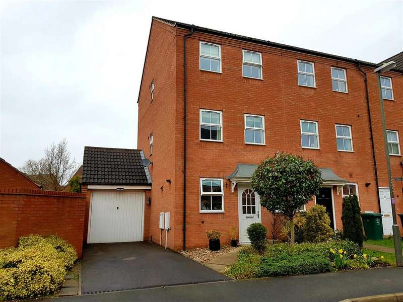 4 Bedrooms Semi Detached House for sale in Sherbourne Drive, Hilton, Derby