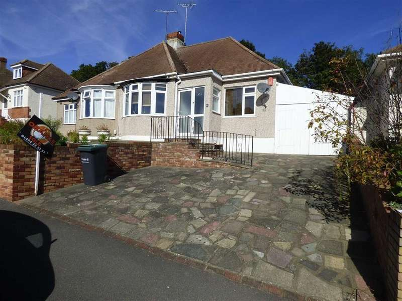 2 Bedrooms Semi Detached Bungalow for sale in Hillside Avenue, Gravesend