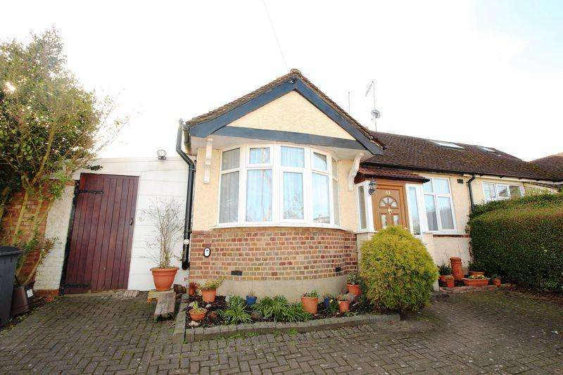 2 Bedrooms Semi Detached Bungalow for sale in Haslemere Avenue, East Barnet