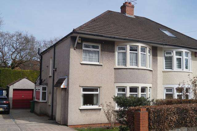 3 Bedrooms Semi Detached House for sale in Crystal Glen, Heath, Heath, Cardiff CF14