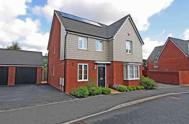 4 Bedrooms Detached House for sale in Rydon Lawns, Exeter