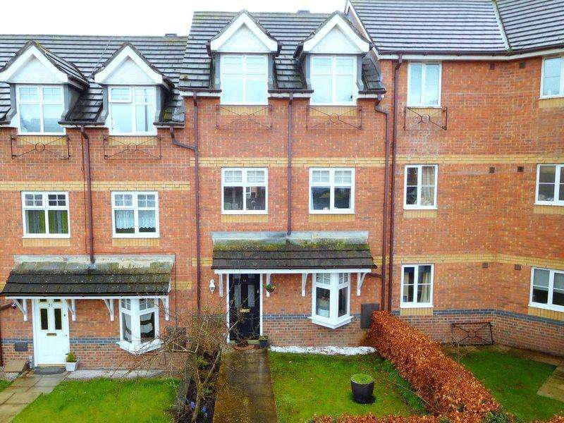 4 Bedrooms Terraced House for sale in Chassagne Square, Crewe