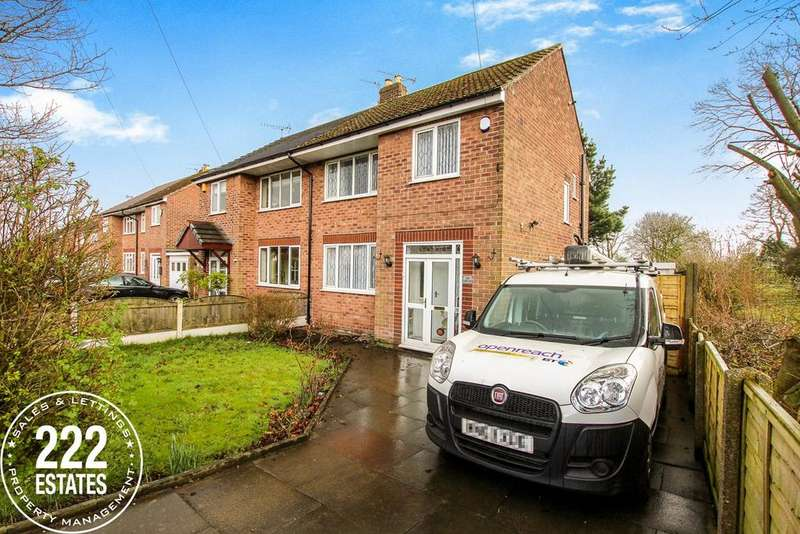3 Bedrooms Semi Detached House for rent in Myddleton Lane, Winwick, Warrington, WA2