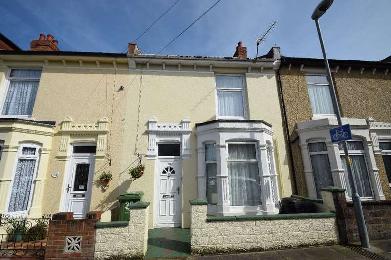 3 Bedrooms Terraced House for sale in Fordingbridge Road, Southsea, PO4