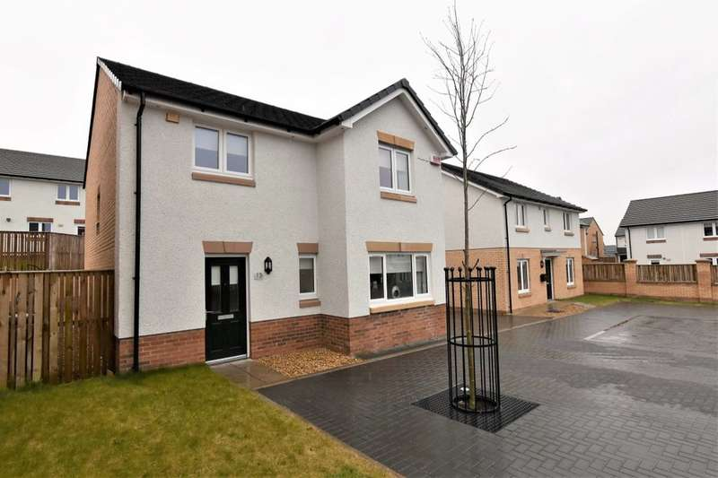 3 Bedrooms Detached House for sale in Harburn Place, Newarthill, Motherwell, ML1