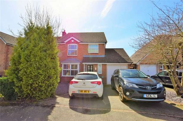 3 Bedrooms Detached House for sale in Thrupp Bridge, Wootton Fields, Northampton
