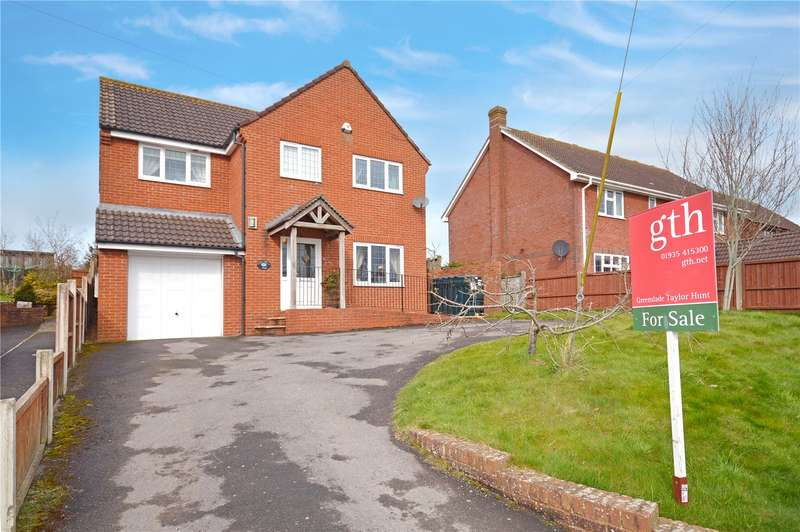 4 Bedrooms Detached House for sale in Hillview, Mudford, Yeovil, Somerset, BA21