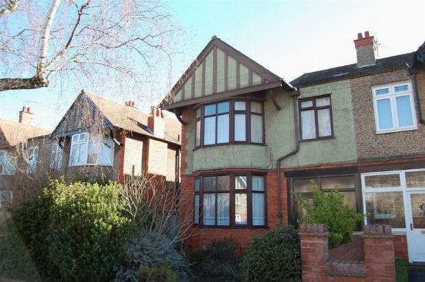 3 Bedrooms Semi Detached House for sale in Park Avenue North, Abington, Northampton NN3 2JD