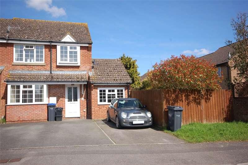 4 Bedrooms Semi Detached House for sale in Ramleaze Drive, Salisbury, Wiltshire, SP2