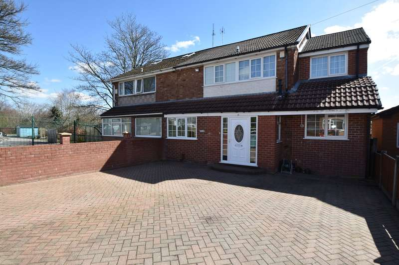 4 Bedrooms Semi Detached House for sale in Blackley Close, Unsworth, Bury, BL9