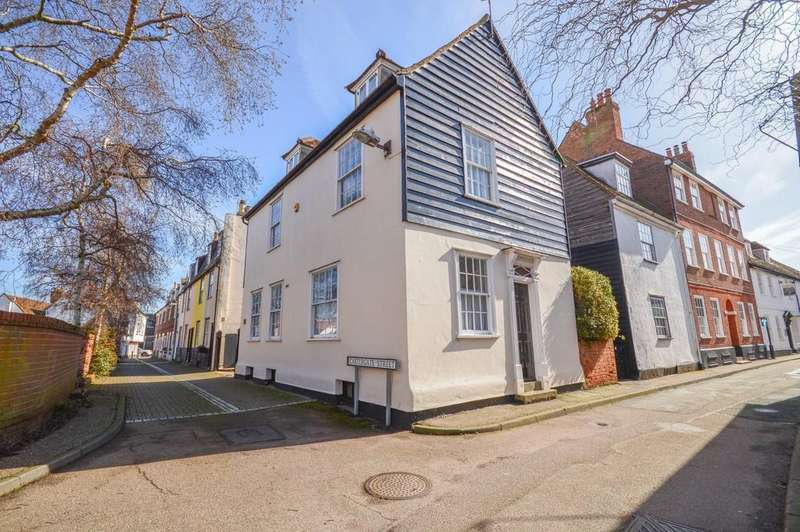 3 Bedrooms Detached House for sale in Castlegate Street, Harwich