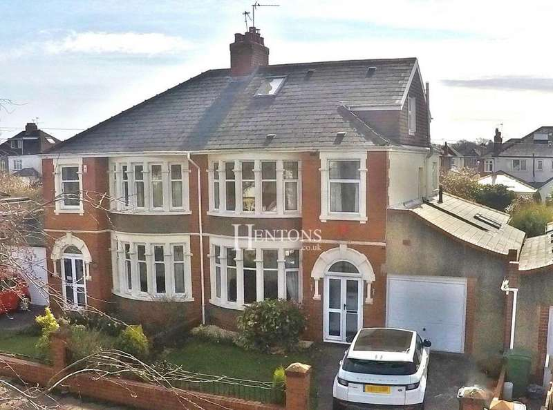 4 Bedrooms Semi Detached House for sale in St Malo Road, Heath, Cardiff