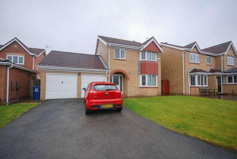 4 Bedrooms Detached House for sale in The Riverside, Hebburn