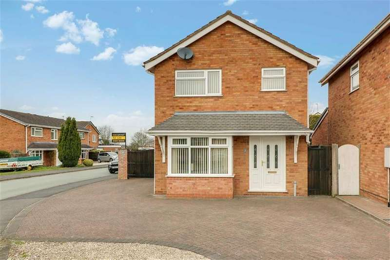 3 Bedrooms Detached House for sale in Fullmoor Close, Penkridge, Staffordshire