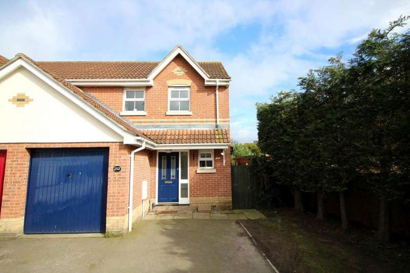 2 Bedrooms Semi Detached House for sale in Chinook, Highwoods, Colchester, Essex, CO4