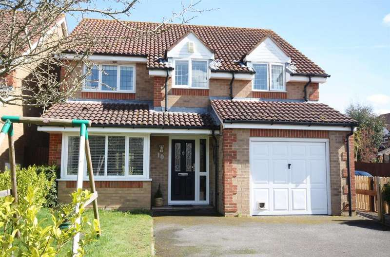 4 Bedrooms Detached House for sale in Strawberry Mead, Fair Oak, Eastleigh
