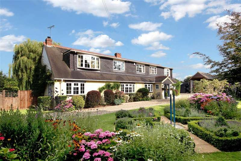 5 Bedrooms Detached House for sale in Gibbins Lane, Warfield, Berkshire
