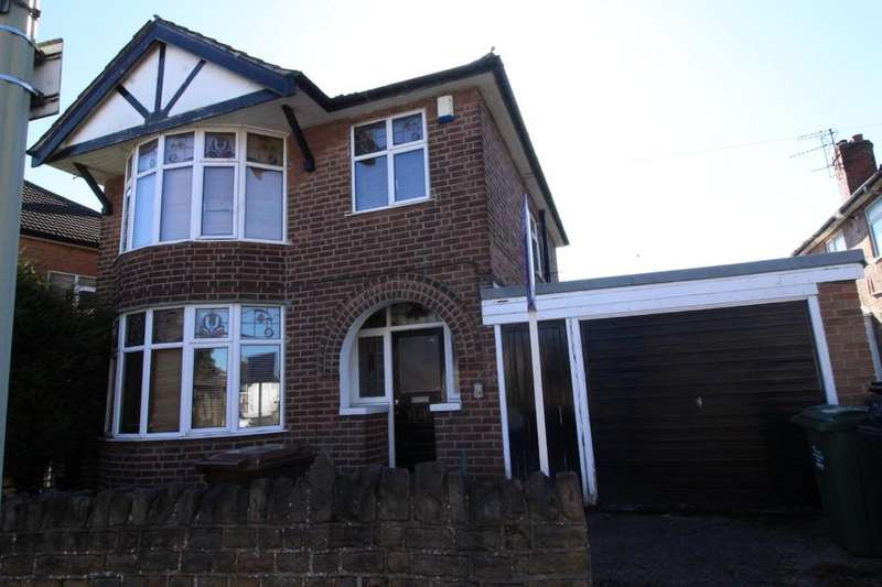 3 Bedrooms Detached House for sale in Holmfield Avenue, Loughborough