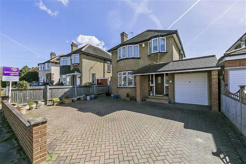 3 Bedrooms Detached House for sale in Fairfield Way, West Ewell, Surrey
