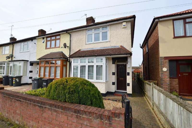 2 Bedrooms End Of Terrace House for sale in Stapleford Road, Putteridge, Luton, LU2 8AY