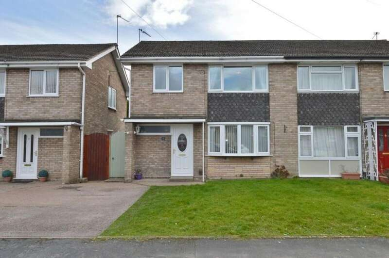 3 Bedrooms Semi Detached House for sale in John Till Close, Rugeley