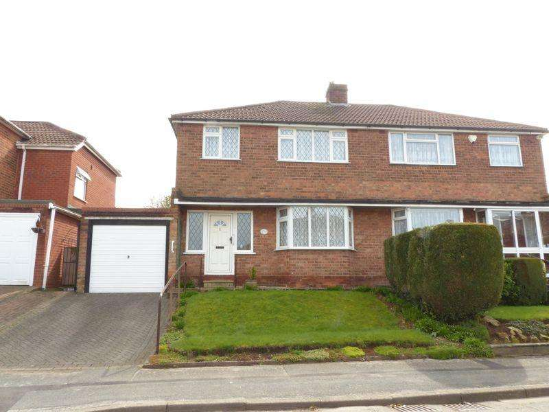 3 Bedrooms Semi Detached House for sale in Yewtree Road, Streetly