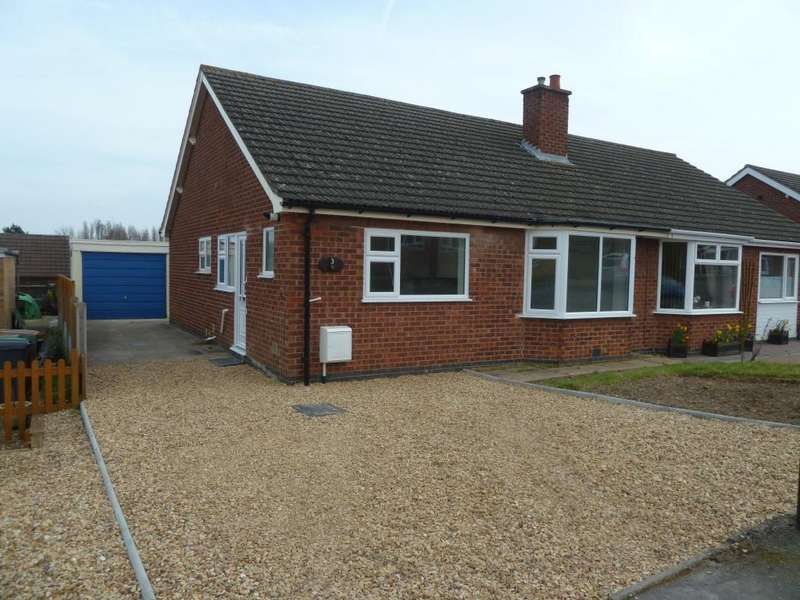 2 Bedrooms Semi Detached Bungalow for sale in Owen Crescent, Melton Mowbray