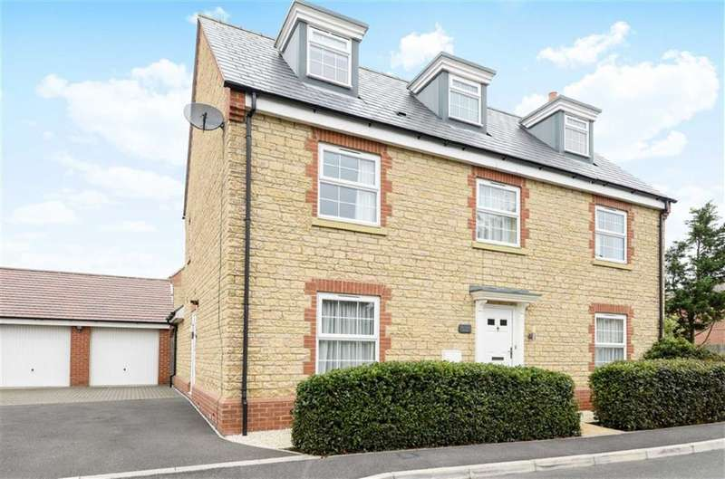 5 Bedrooms Detached House for sale in Walker Drive, Faringdon, Oxfordshire