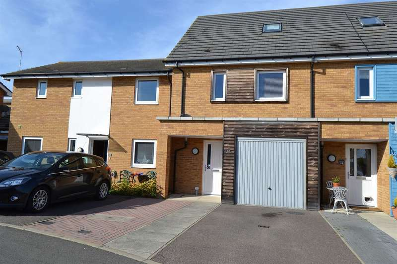3 Bedrooms Terraced House for sale in Olympia Way, South Tankerton, Whitstable