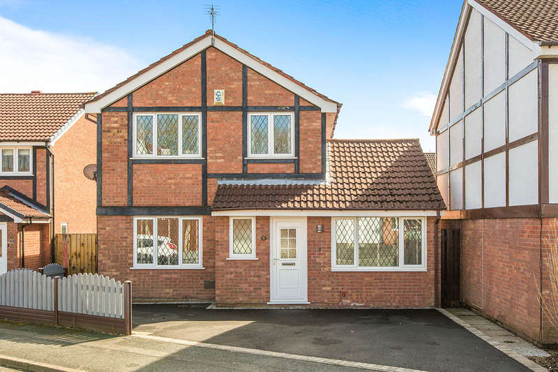 4 Bedrooms Detached House for sale in Willow Coppice, PRESTON, PR2