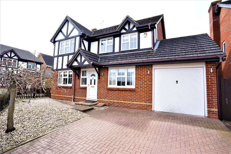 4 Bedrooms Detached House for sale in Niven Close, Wainscott, Rochester, Kent, ME3