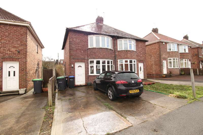 3 Bedrooms Semi Detached House for sale in Beardsmore Grove, Hucknall NG15