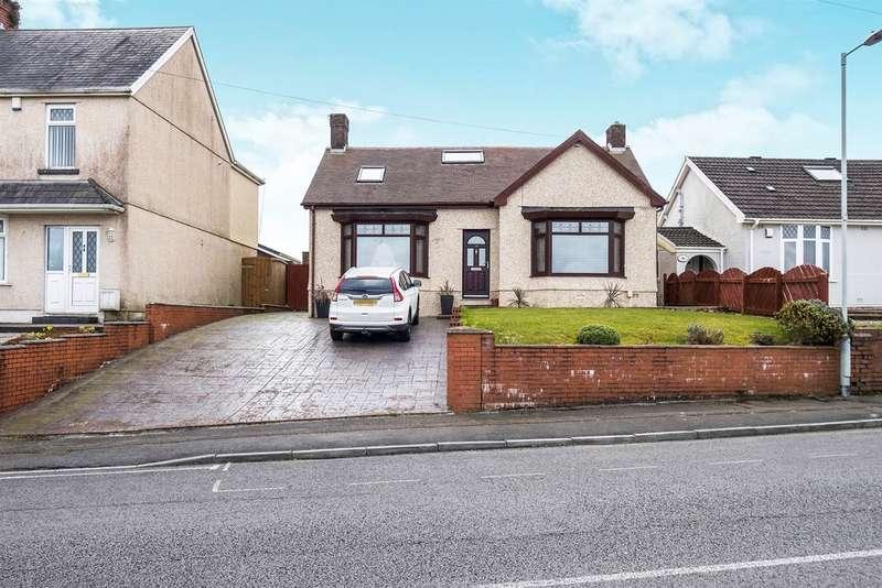 3 Bedrooms Detached Bungalow for sale in Mynydd Garnllwyd Road, Morriston, Swansea