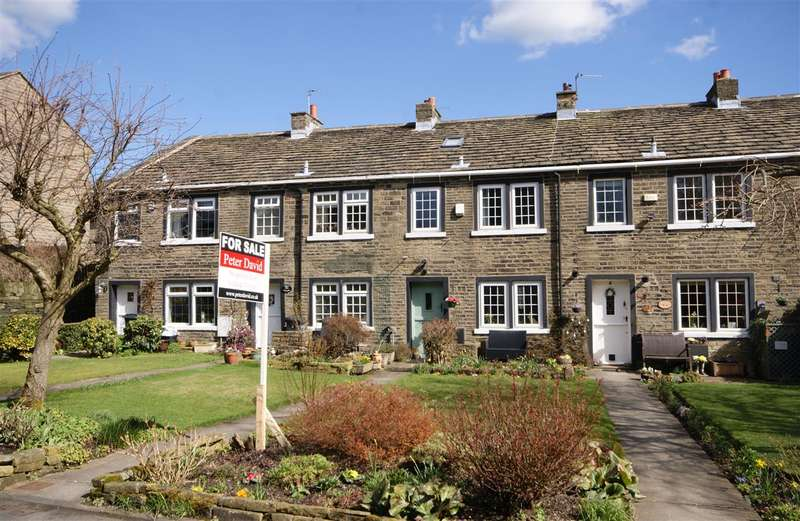 3 Bedrooms Cottage House for sale in Jerusalem Square, Southowram, Halifax