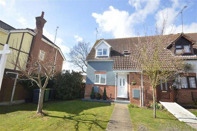 2 Bedrooms End Of Terrace House for sale in Allerton Close, Rochford, Essex