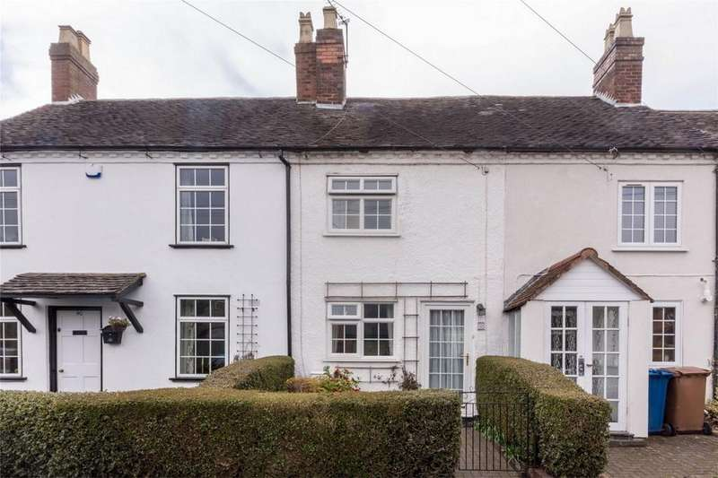 2 Bedrooms Cottage House for sale in Christchurch Lane, Lichfield, Staffordshire