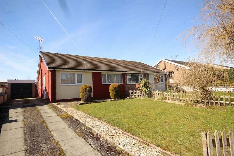 2 Bedrooms Semi Detached Bungalow for sale in Penymynydd Road, Penyffordd