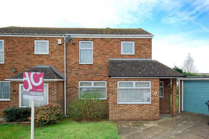 3 Bedrooms Semi Detached House for sale in Radnor Close, Herne Bay