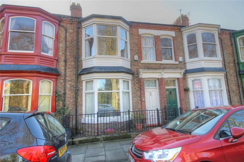 3 Bedrooms Terraced House for sale in Victoria Embankment, Darlington, DL1