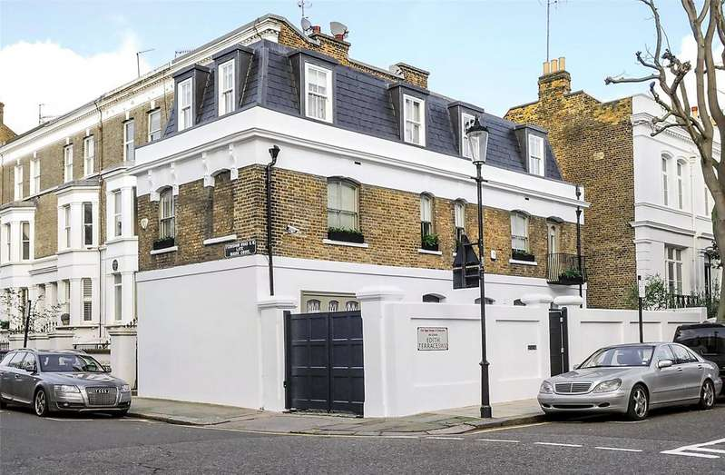 3 Bedrooms Detached House for sale in Fernshaw Road, Chelsea, London, SW10