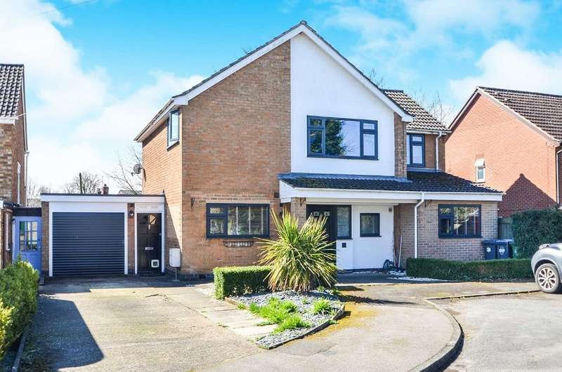 4 Bedrooms Detached House for sale in The Orchards, Newton, Rugby
