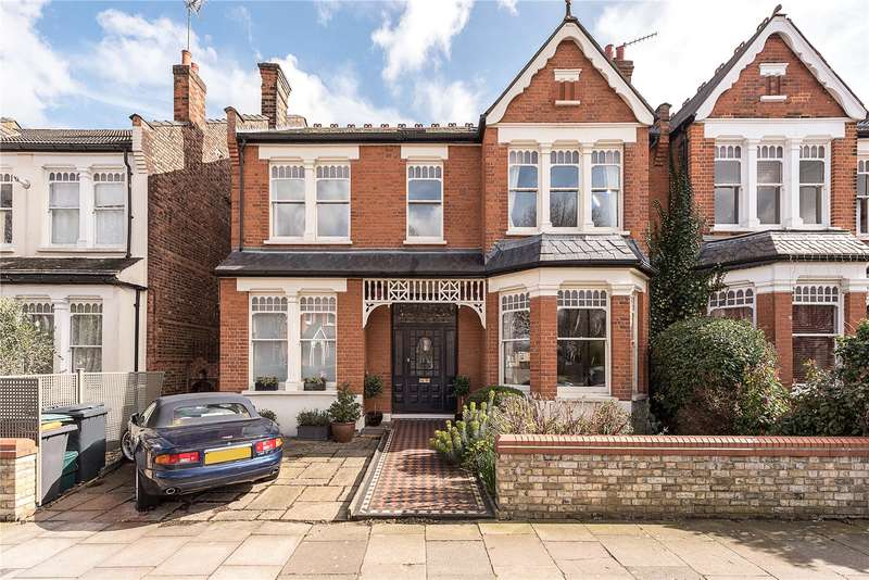 5 Bedrooms Semi Detached House for sale in Rosebery Road, London, N10