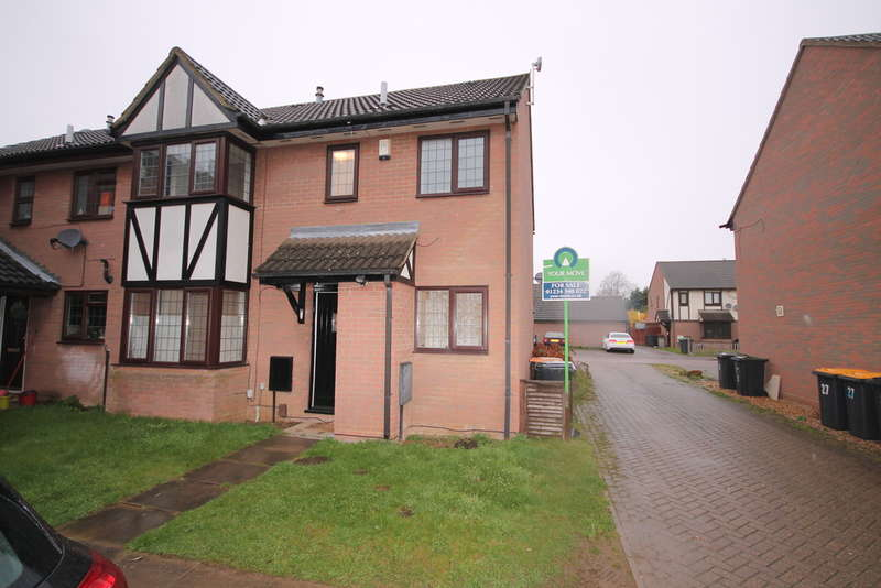 2 Bedrooms Semi Detached House for sale in Queensbury Close, Bedford, MK40