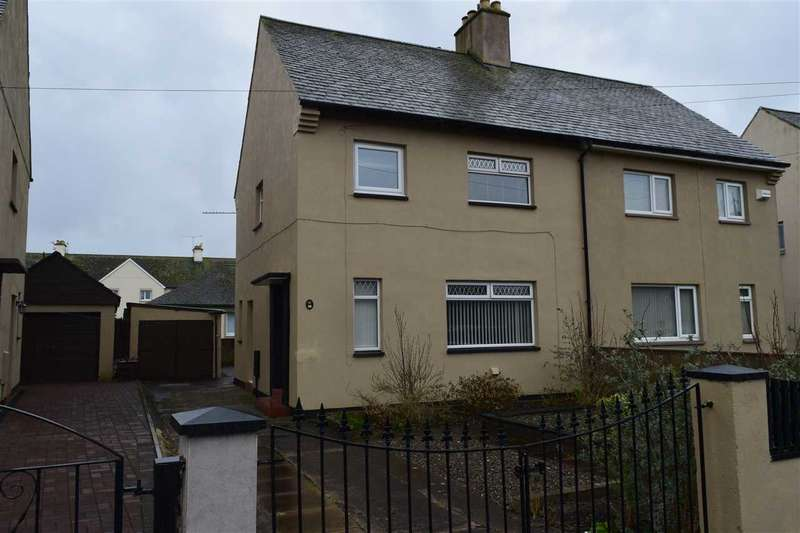 3 Bedrooms Semi Detached House for sale in Sandy Lonning, Maryport